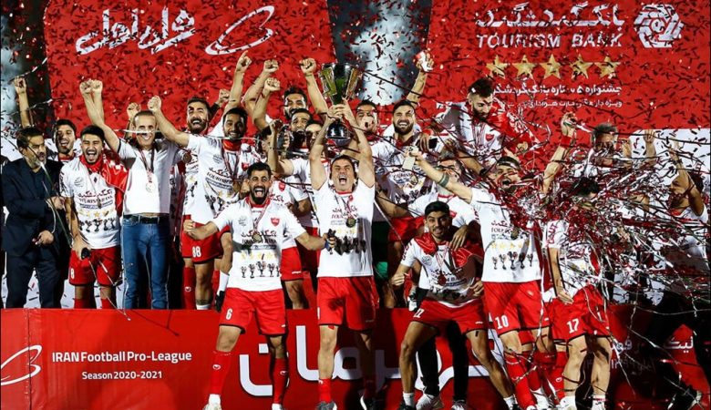 قهرمانی پرسپولیس در لیگ برتر